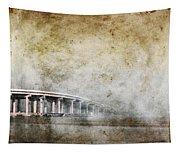 Bridge Over River Tapestry