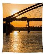Bridge Sunrise 1 Tapestry