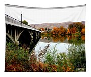 Bridge To Downtown Prosser Tapestry