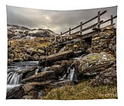 Bridge To Moutains Tapestry