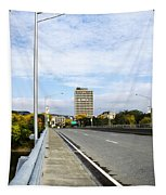Bridge To The City Binghamton New York Tapestry