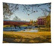 Bridgeton Mill Covered Bridge Tapestry
