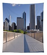 Bridgeway To Chicago Tapestry