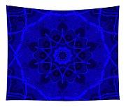 Brigadoon No. 1 Neon Blue Tapestry