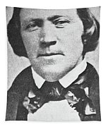 Brigham Young  Second President Of The Mormon Church, Aged 43, 1844 Tapestry