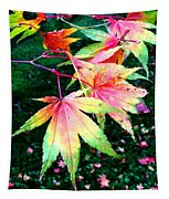 Bright Autumn Leaves Tatton Park Tapestry