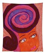 Bright Eyed Beauty Tapestry
