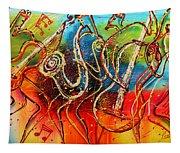 Bright Jazz Tapestry