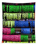 Bright Leather Bracelets Tapestry
