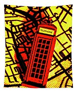 Brit Phone Box Tapestry