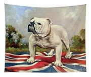 British Bulldog Tapestry