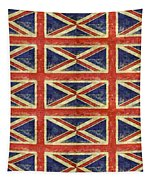 British Flag Collage One Tapestry