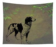 Brittany Spaniel Tapestry