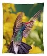 Broad-bill Pose Tapestry