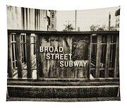 Broad Street Subway - Philadelphia Tapestry