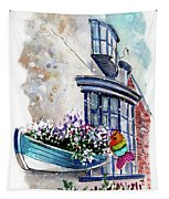 Broadies By The Sea In Staithes Tapestry