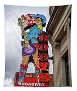 Broadway Boots - Nashville Tn Tapestry