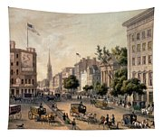 Broadway In The Nineteenth Century Tapestry