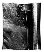 Broken Glass Window Tapestry