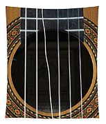 Broken String On A Classical Guitar Tapestry