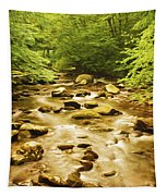 Bronze Stream Tapestry