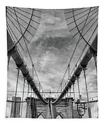 Brooklyn  Bridge Suspension Cables Tapestry