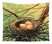 Brown Speckled Eggs Tapestry