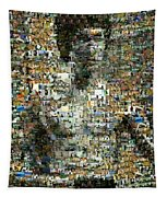 Bruce Lee Mosaic Tapestry