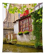 Bruge Canal Tapestry