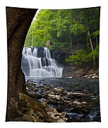 Brush Creek Falls II Tapestry