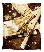 Brushes Of Interior Decoration Tapestry