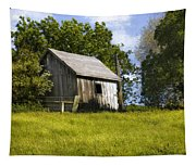 Brushy Peak  Cabin Tapestry