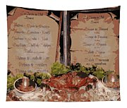 Brussels Menu - Digital Tapestry