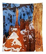 Bryce Canyon Winter 4 Tapestry