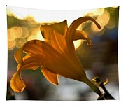 Bubble Blowing Flower Tapestry
