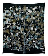 Bubble Tree Night Tapestry