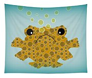 Bubbles The Fish Tapestry