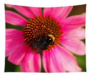 Bumble On A Pistil Tapestry