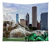 Buckingham Fountain Tapestry