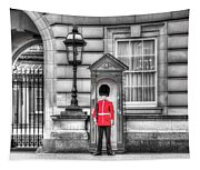Buckingham Palace Queens Guard Tapestry