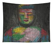 Buddha Encaustic Painting Tapestry