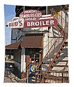 Bud's Broiler New Orleans Tapestry