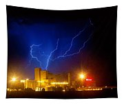 Budweiser Powered By Lightning Tapestry
