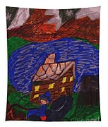 Buggy Ride Under The Stars Tapestry