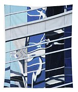 Building Reflection True Color Tapestry