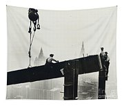 Building The Empire State Building Tapestry