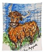 Bull Tapestry