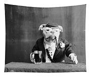 Bulldog, C1905 Tapestry