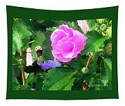 Bumble Bee Flying Away  Tapestry