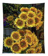 Bunches Of Sunflowers Tapestry